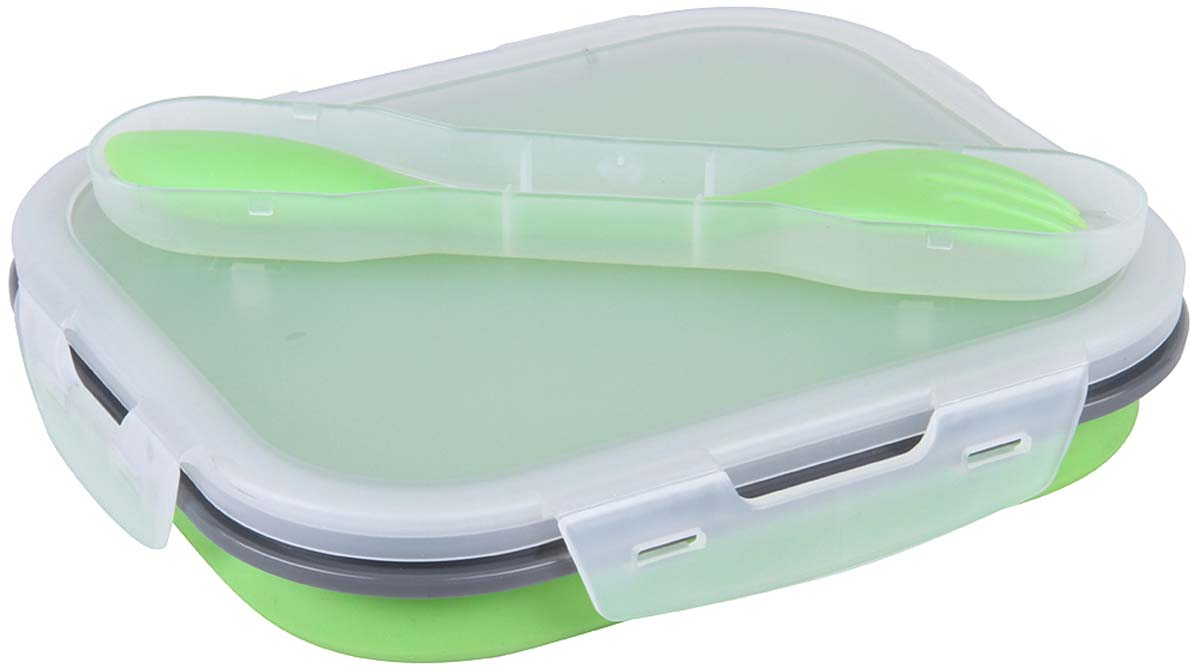 Контейнер пищевой Rosenberg, цвет: зеленый, 960 мл ланч бокс rosenberg rsi 230001 960ml