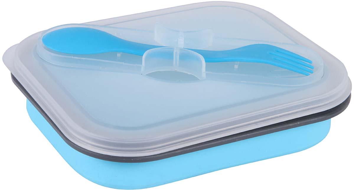 Контейнер пищевой Rosenberg, цвет: голубой, 730 мл ланч бокс rosenberg rsi 230003