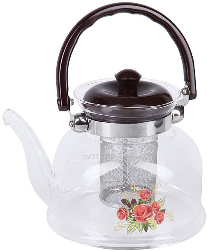 Чайник заварочный Rosenberg изготовлен из жаропрочного стекла и выдерживает температуру от -15°C до 148°C, что позволяет его использовать как обычный заварочный чайник, так и чайник для газовых плит. Ненагревающаяся бакелитовая ручка и съемный фильтр из нержавеющей стали делают чайник максимально удобным в использовании. Объем 1400 мл.