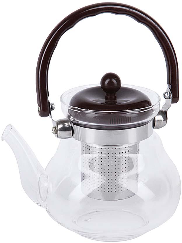 Чайник заварочный Rosenberg изготовлен из жаропрочного стекла и выдерживает температуру от -15°C до 148°C, что позволяет его использовать как обычный заварочный чайник, так и чайник для газовых плит. Ненагревающаяся бакелитовая ручка и съемный фильтр из нержавеющей стали делают чайник максимально удобным в использовании. Объем 800 мл.