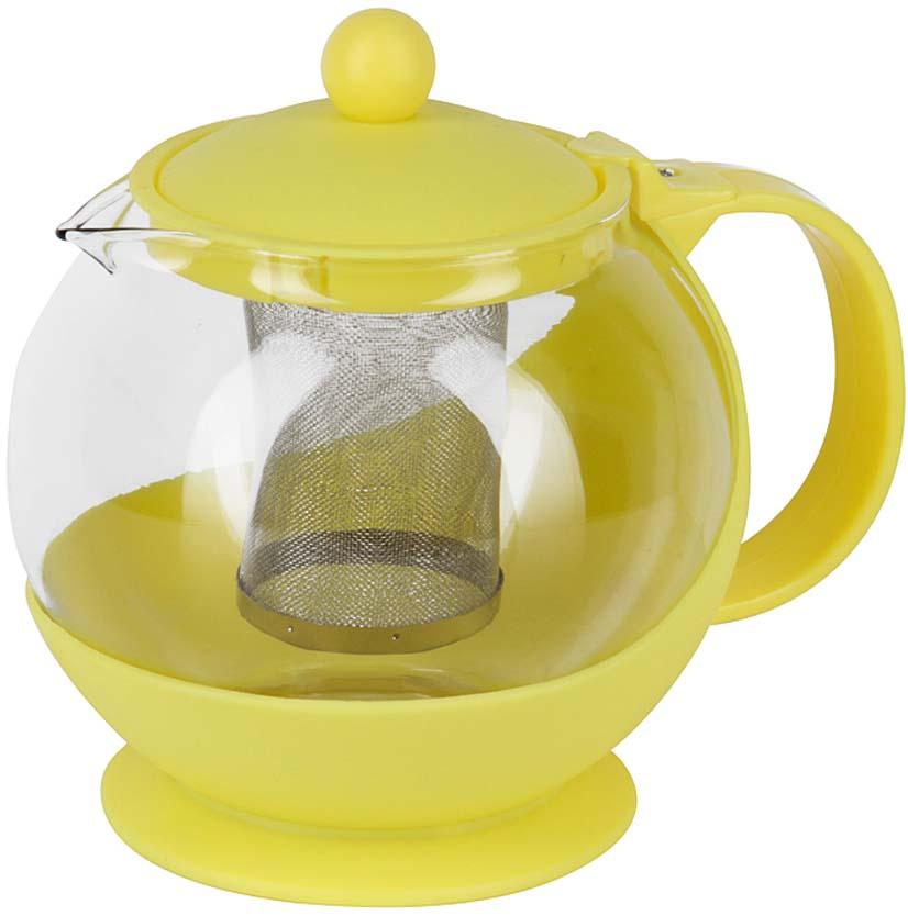 """Чайник заварочный """"Rosenberg"""" идеально подойдет как для ежедневного использования, так и для сервировки праздничного стола. Этот чайник станет настоящим открытием для истинных поклонников чайных церемоний.Чайник имеет съемный фильтр из нержавеющей стали. Корпус заварочного чайника выполнен из качественного боросиликатного стекла и пластика, что делает его удивительно износостойким и легким в уходе. Кроме этого можно выделить ещё несколько достоинств: - Устойчив к высоким температурам и различным химическим веществам. Выдерживает температуру от -15 C до 148 C. Можно использовать даже для охлаждения в холодильнике. - Не вступает в реакцию с пищей, не выделяет вредных веществ при нагреве. - Прекрасно сохраняет температуру, поэтому напиток будет оставаться теплым долгое время. - Простой и легкий уход."""