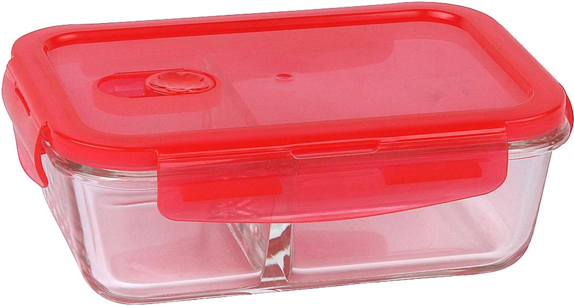 Контейнер пищевой Rosenberg, цвет: красный, 800 мл контейнер rosenberg rgl 230127 650ml