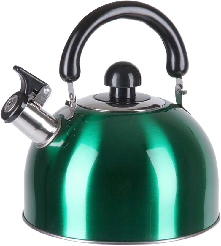 Для чего нужен чайник со свистком Pomi d 39;Oro PSS-650010, если существуют электрические аналоги, в которых вода закипает за несколько минут Ответ состоит из нескольких частей: Вы всегда сможете вскипятить воду, даже если нет электричества. В металлической емкости вода значительно дольше остается горячей. Используя устройство со свистком вы сможете немного сэкономить электроэнергию. Данная модель прослужит значительно дольше, чем большинство электрических чайников. Это классическое украшение интерьера, которое поможет создать уют на кухне. Чайник со свистком проверенный временем верный помощник, который просто незаменим на любой кухне. Если вы любите ежедневные чаепития, то без него вам не обойтись. Традиционная альтернатива Казалось бы, в эпоху инноваций и всевозможных новинок для упрощения бытовых забот, классический чайник для плиты до сих пор сохранил свою актуальность благодаря ряду достоинств: основным материалом является нержавеющая сталь, что обеспечивает долговечность использования; зеркальная поверхность придает изделию стильный и привлекательный вид; носик оснащен свистком с удобным механизмом открывания, который оповестит о закипании воды пронзительным свистом; ненагревающаяся бакелитовая ручка делает использование чайника очень удобным и безопасным. Небольшой совет: используйте фильтрованную или бутилированную воду для кипячения и последующего употребления. Это и для здоровья полезно, и срок службы чайника продлит.