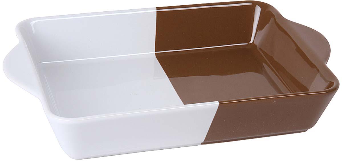Форма для запекания Pomi d'Oro, цвет: белый, шоколадный форма для запекания tramontina глубокая 27 3х20х5 4см