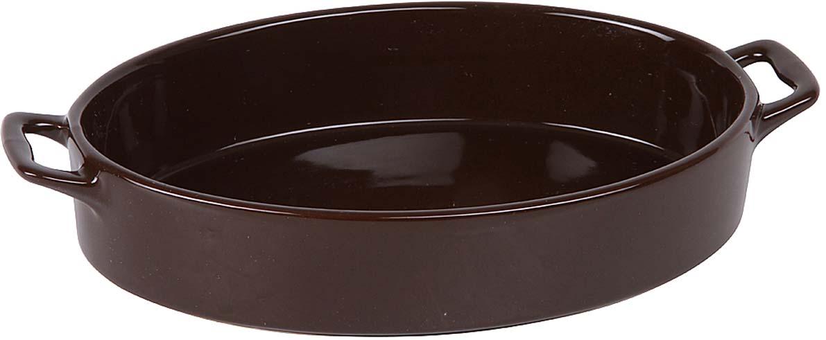 Форма для запекания Pomi d'Oro, цвет: шоколадный, 28 х 16,5 х 5 см