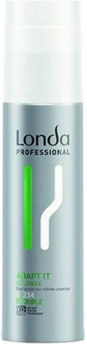 Londa Professional Гель-воск Styling Adapt It нормальной фиксации, 100 мл londa гель воск для укладки волос
