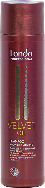 Londa Professional Шампунь Velvet Oil с аргановым маслом,250 мл librederm шампунь с аргановым маслом интенсивный увлажняющий 250 мл