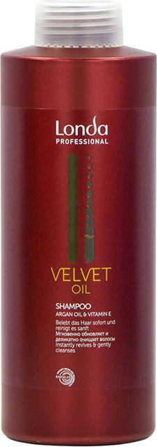 Londa Professional Шампунь Velvet Oil с аргановым маслом,1 л шампунь londa professional шампунь увлажняющий deep moisture londa professional