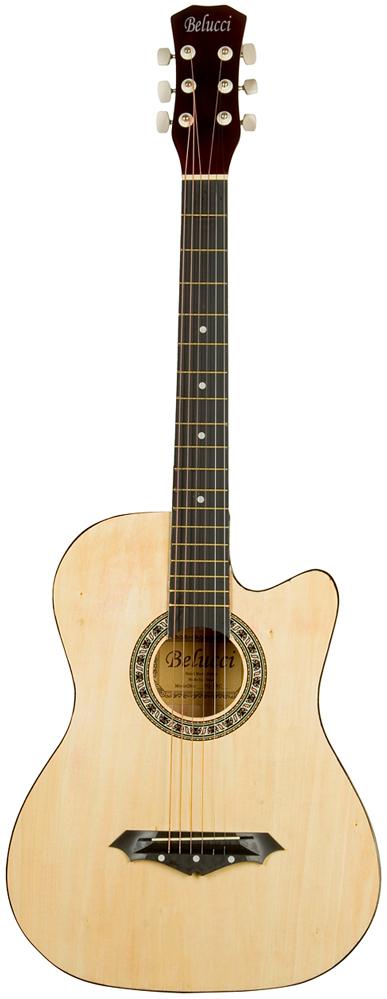 Belucci BC3810, Beige акустическая гитара акустическая гитара виды аккомпанемента и обыгрывание аккордов