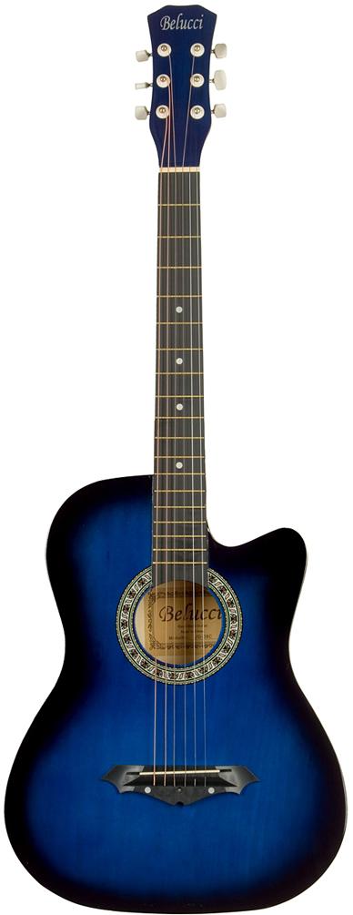 Belucci BC3810 , Blue акустическая гитара