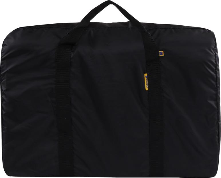 """Сумка дорожная Travel Blue """"Folding Carry Bag"""", цвет: черный, 30 л"""
