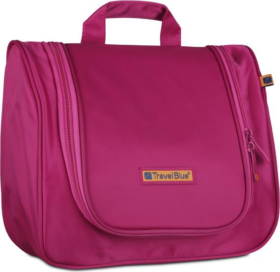 Сумка для ванных принадлежностей Travel Blue Wash Bag, цвет: розовый, 20,5 х 26 х 10 см usb charging backpack outdoor canvas student bag fashion large capacity travel