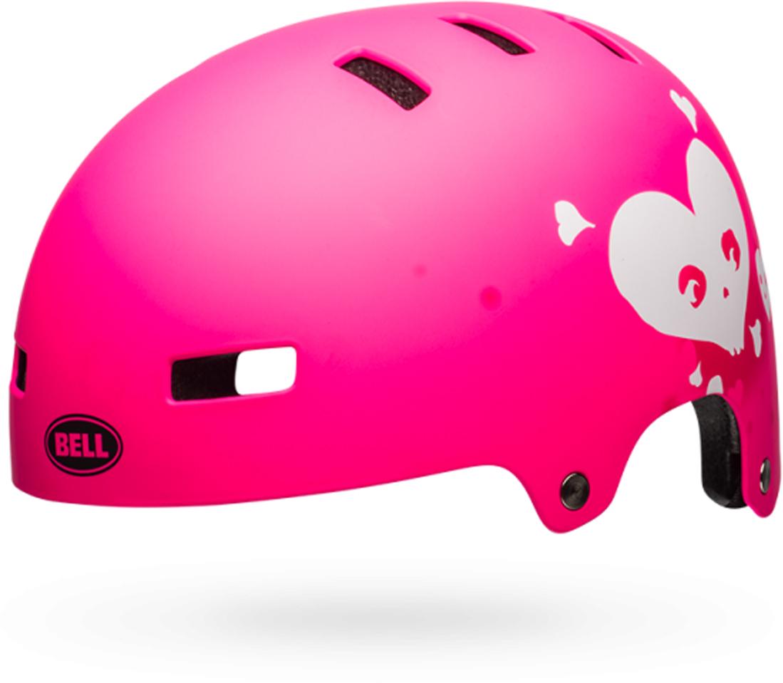"Шлем защитный детский Bell ""18 Block BMX"", цвет: розовый. Размер S (51/55), Bell."