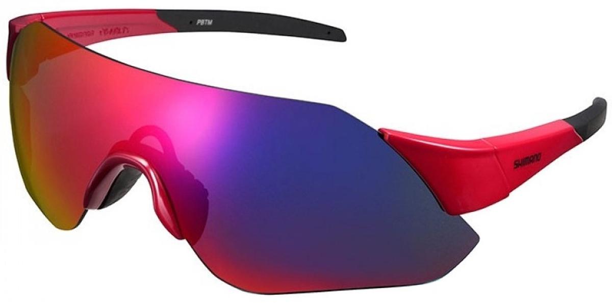 Велосипедные очки Shimano Aerolite, цвет оправы: красный оправа для очков tissot tr 8019