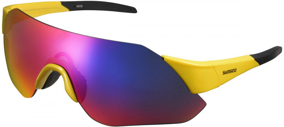 Велосипедные очки Shimano Aerolite, цвет оправы: желтый оправа для очков tissot tr 8019