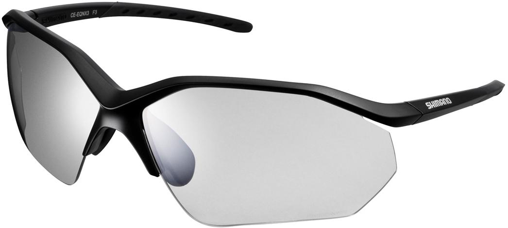 Велосипедные очки Shimano Equinox 3, цвет оправы: черный