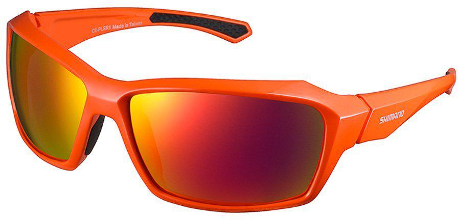 Велосипедные очки Shimano Pulsar, цвет оправы: оранжевый клипса диоптрийная для очков shimano ce rx clip esmcerxclip2