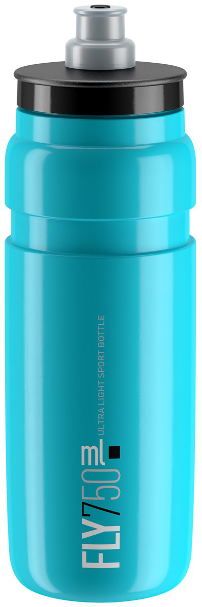 Фляга велосипедная Elite Fly, цвет: синий, 750 мл фляга велосипедная stern water bottle с держателем цвет фиолетовый 350 мл