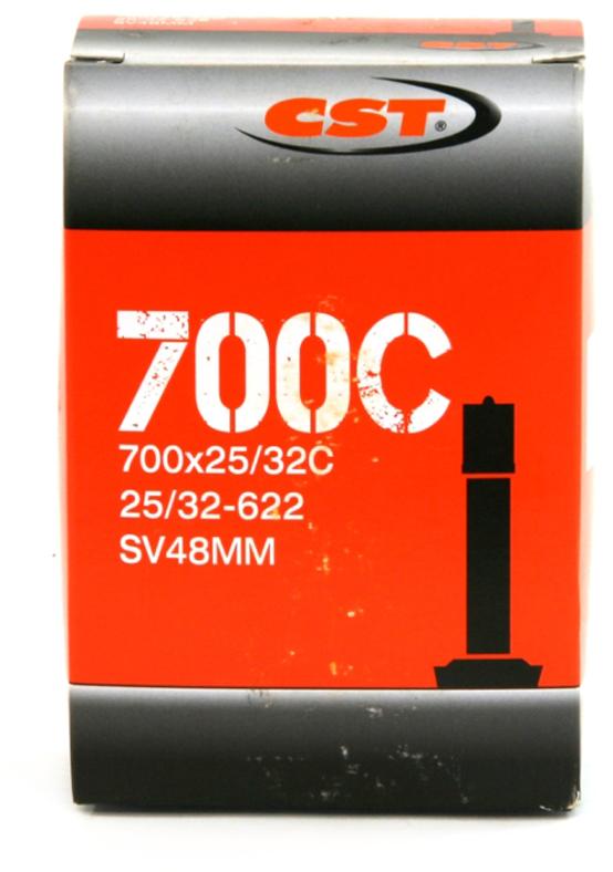 Велокамера CST Schrader, 700 x 25/32C, 48 мм