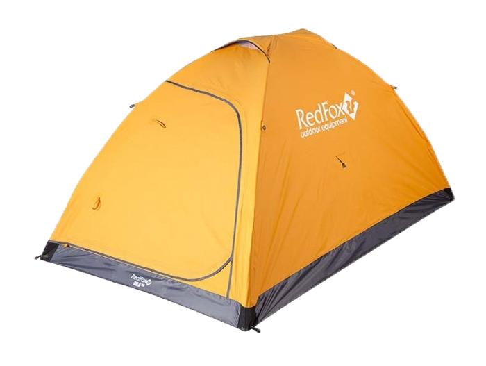 Палатка Red Fox Solo PRO II, 2-х местная, цвет: оранжевый