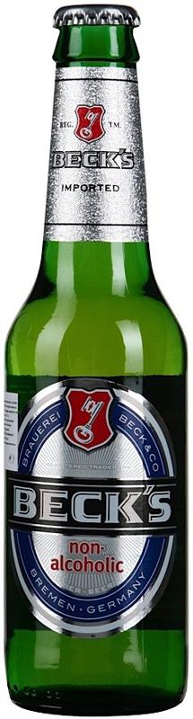 Beck's Blue Пиво безалкогольное, 0,33л