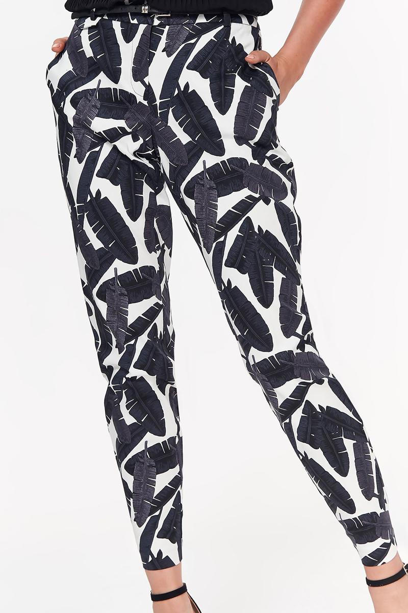Брюки женские Top Secret, цвет: черный. SSP2870CA. Размер 42 (50)