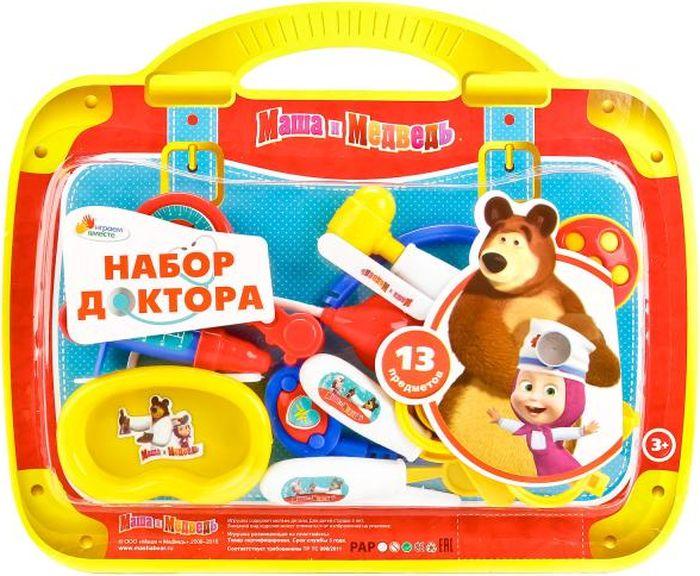 Играем вместе Игровой набор Доктор Маша и Медведь 13 предметов B1363593-R