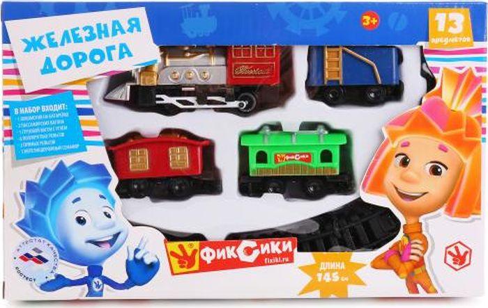 Играем вместе Железная дорога Фиксики A147-H06316-R1 играем вместе железная дорога ржд товарный поезд