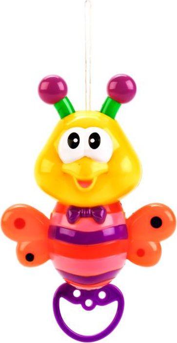 Умка Музыкальная игрушка Пчелка B1024641-R музыкальная карусель на кроватку elefantino с заводным механизмом