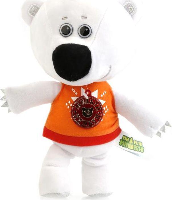 Фото Мульти-Пульти Мягкая озвученная игрушка Медвежонок Белая Тучка 25 см
