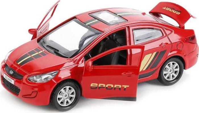 ТехноПарк Машинка инерционная Hyundai Solaris SOLARIS-SPORT технопарк машинка инерционная hyundai solaris solaris mix