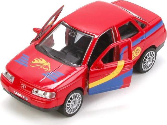 где купить Технопарк Машинка инерционная Lada 110 Спорт дешево