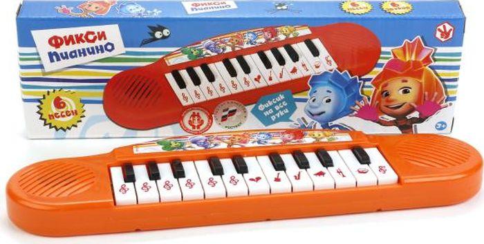 Умка Пианино Фиксики музыкальный инструмент детский doremi синтезатор 37 клавиш с дисплеем
