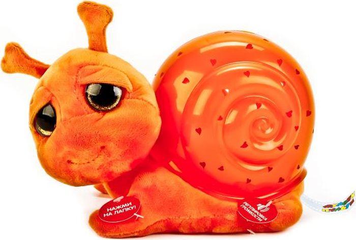 все цены на Мульти-Пульти Мягкая игрушка Проектор-ночник Улитка онлайн