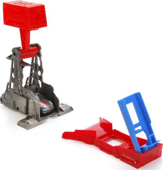 ТехноПарк Игрушечный трек Трек-Мини с катапультой и машинкой набор игровой для мальчика poli средний трек с умной машинкой
