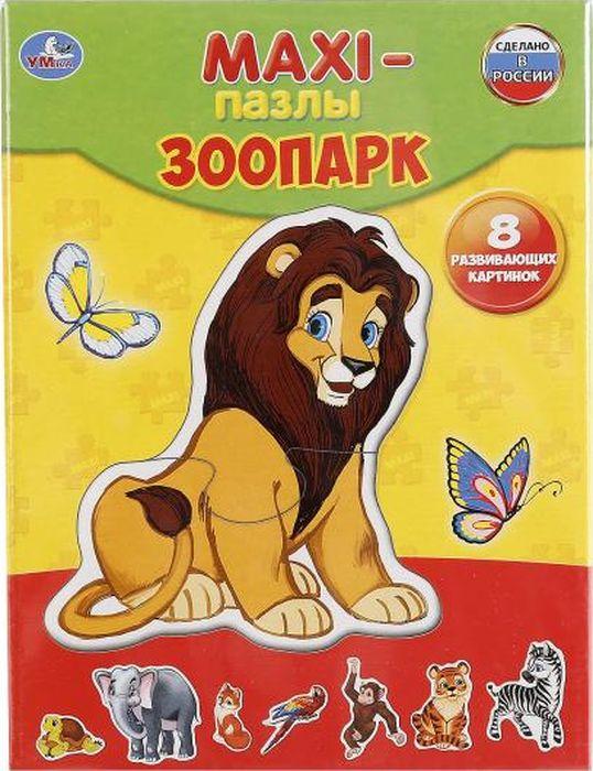 Умка Пазл для малышей Зоопарк 4690590123003
