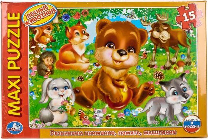 цены Умка Пазл для малышей Лесные животные 4690590123942