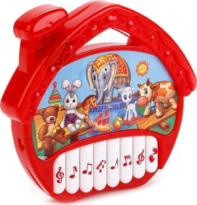 Умка Музыкальная игрушка Пианино-домик