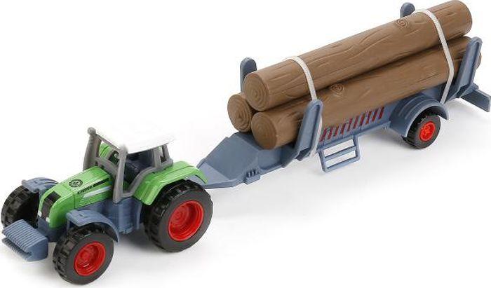 ТехноПарк Трактор с прицепом 1801-1ACD-R трактор с прицепом св ход 36см dickie