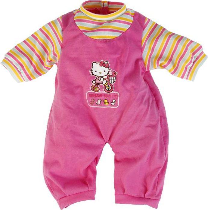 Карапуз Одежда для кукол Hello Kitty Комбинезон Рукав в полоску куклы и одежда для кукол карапуз золушка 25 см