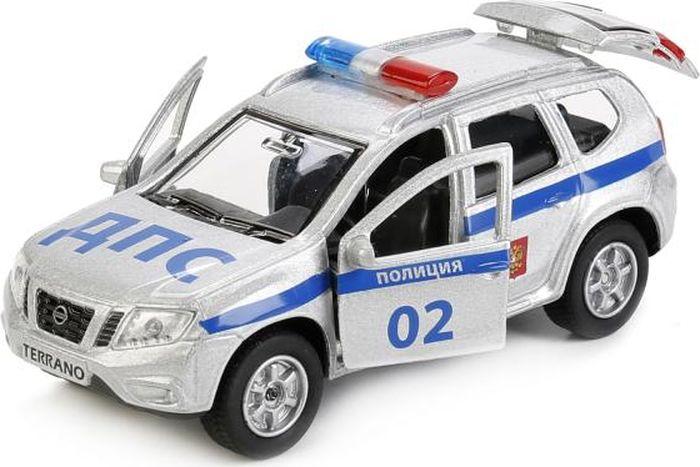 Технопарк Машинка инерционная Nissan Terrano Полиция экономичность и энергоемкость городского транспорта