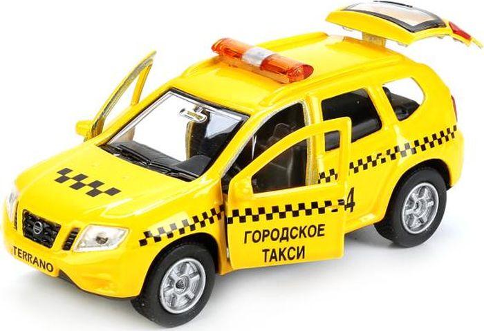 Технопарк Машинка инерционная Nissan Terrano Такси