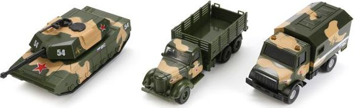 ТехноПарк Машинка Военная техника