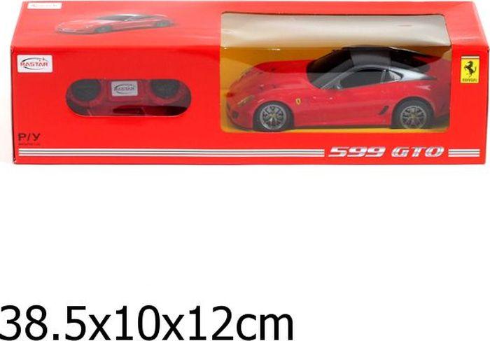 Rastar Радиоуправляемая модель Ferrari 599 GTO масштаб 1:24