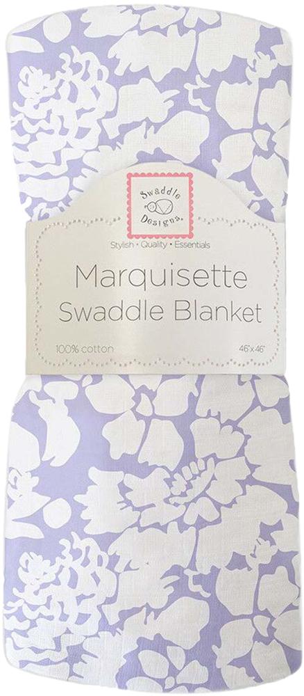 SwaddleDesigns Пеленка тонкая Marquisette Lavender Lush