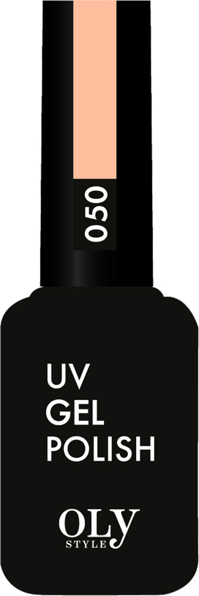 OlystyleГель-лакдляногтейтон№050светло-персиковый, 10 мл