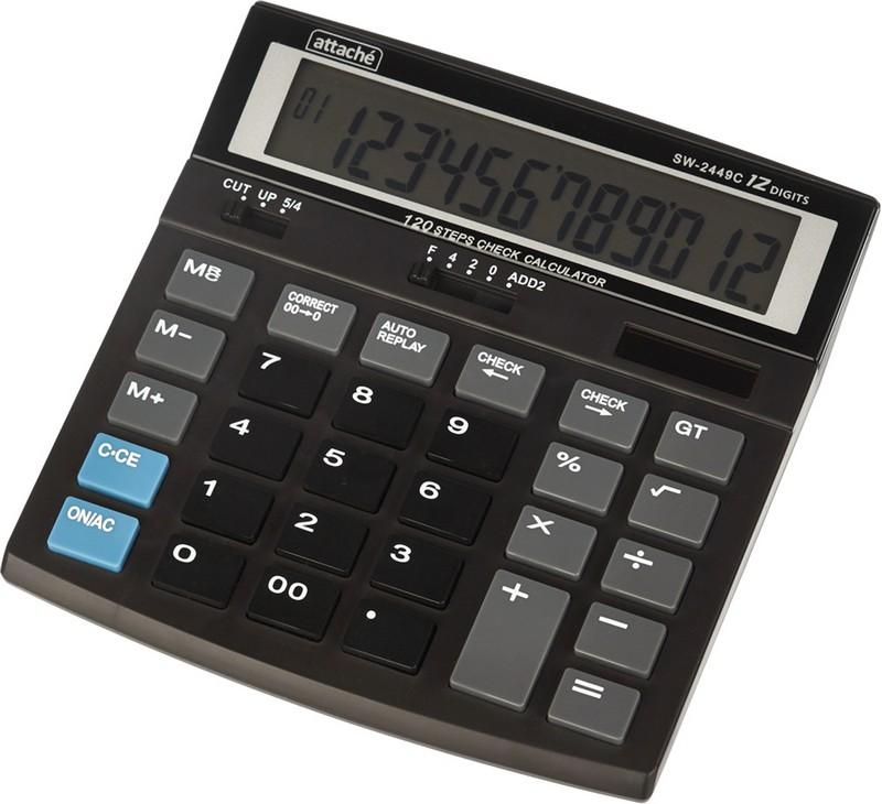 Attache Калькулятор настольный SW-2449C