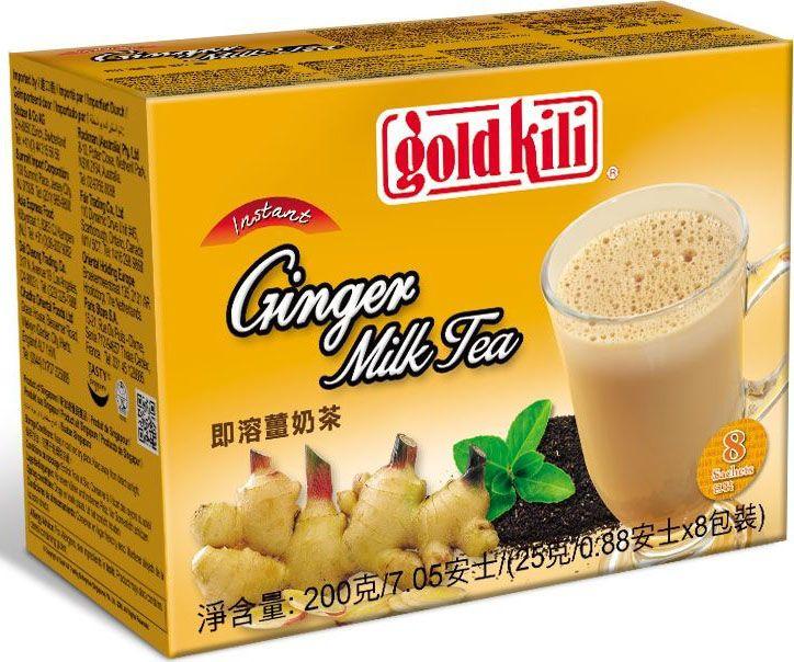 """Перед вами популярный напиток индийско-малайской кухни, известный как """"те халия"""" - уникальное сочетание имбиря, чая и молока, пряного и сливочного, жгучего и нежного. Оригинальная технология производства сохраняет полезные свойства имбиря в более удобной для приготовления форме. Этот напиток стимулирует работу иммунной системы, помогает вам сохранить бодрость и энергичность в течение дня, улучшает работу желудочно-кишечного тракта и организма в целом. Продукт имеет сертификат """"Халяль""""."""