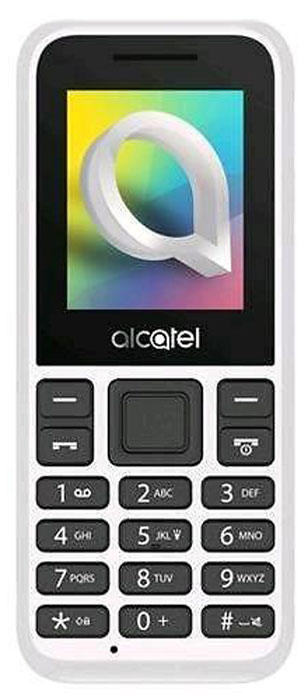 Alcatel 1066D, Warm White цена 2017
