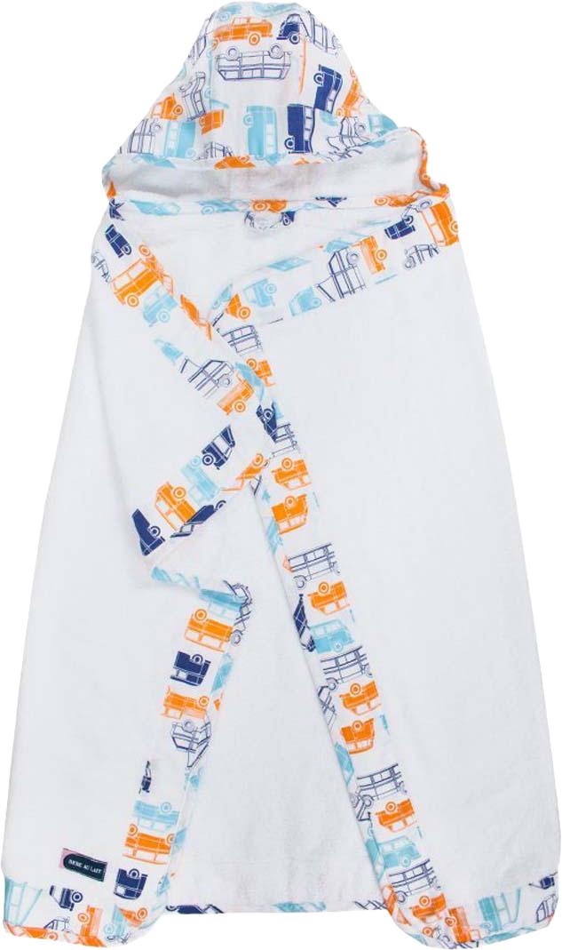 Bebe Au Lait Полотенце детское с капюшоном Big Sur 3 sprouts детское полотенце с капюшоном морж blue walrus 28649